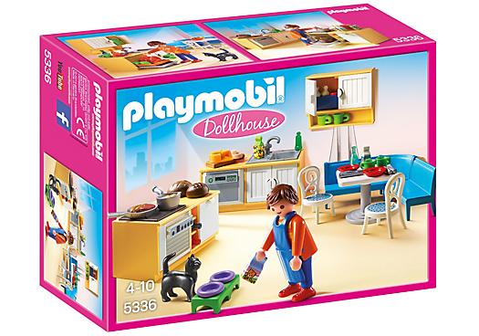 פליימוביל 5336 מטבח עם טרקלין Playmobil