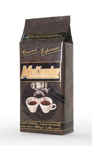 פולי קפה מוקמבו 1/2 קילו - Mokambo Grande Espresso