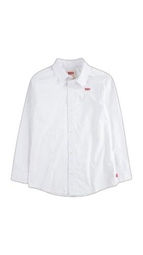 חולצה מכופתרת לבנה LEVIS  (2-13)