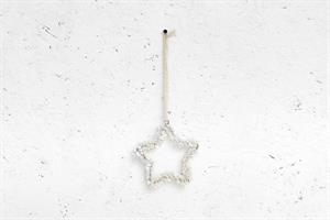 כוכב כפתורים - לבן