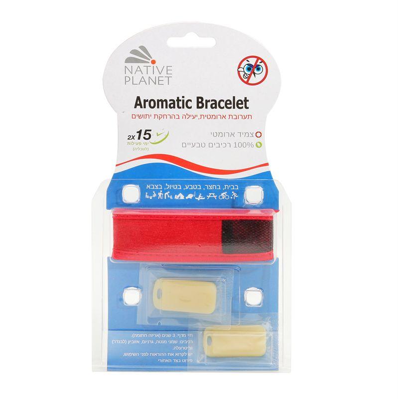 צמיד מבוגרים להרחקת יתושים - Adults Aromatic Bracelet