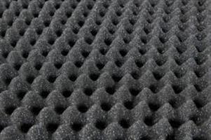 ספוג אקוסטי להפחתת רעש -ביצים אפור חסין אש