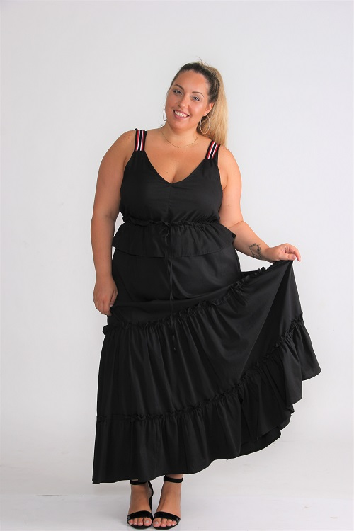 שמלת אלאדין שחורה