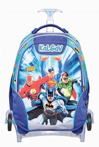 תיק הנוקמים כחול/רויאל Schoolbag T Justice League