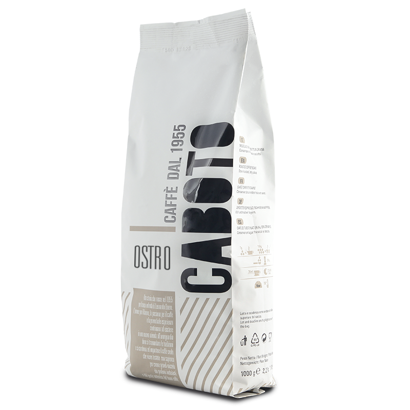 1 קג פולי קפה 100% רובוסטה Ostro