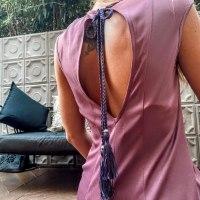 שמלת DANA - סגולה