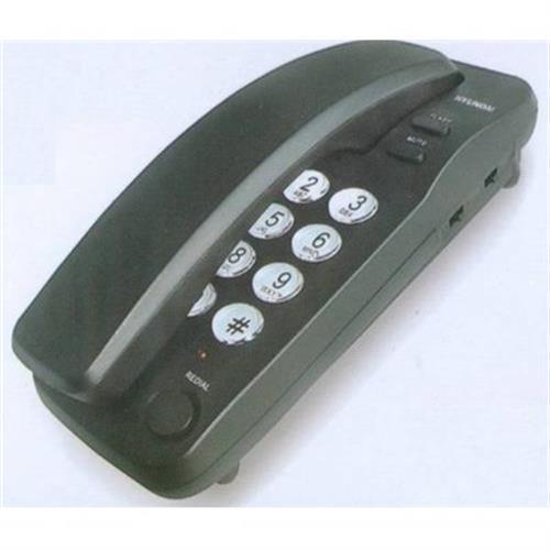 טלפון שולחני קווי S-1000 שחור