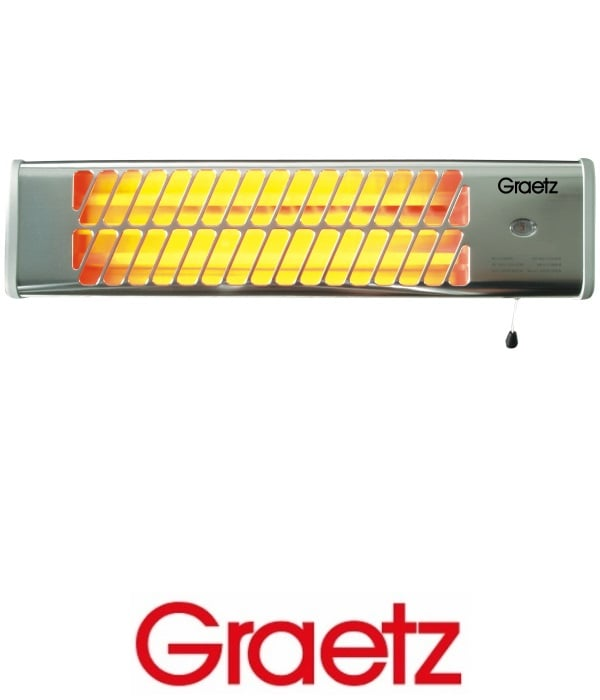 Graetz תנור חימום לאמבטיה דגם GR189