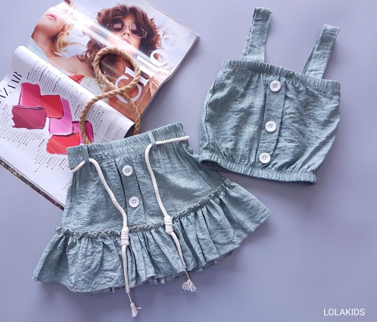 חליפה חצאית דגם9560