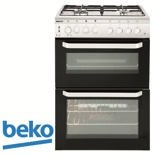 תנור משולב דו תאי beko דגם: KCDM-62110DW דגם 2017