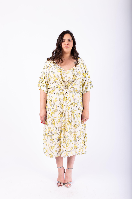 שמלת ברנדה צהובה