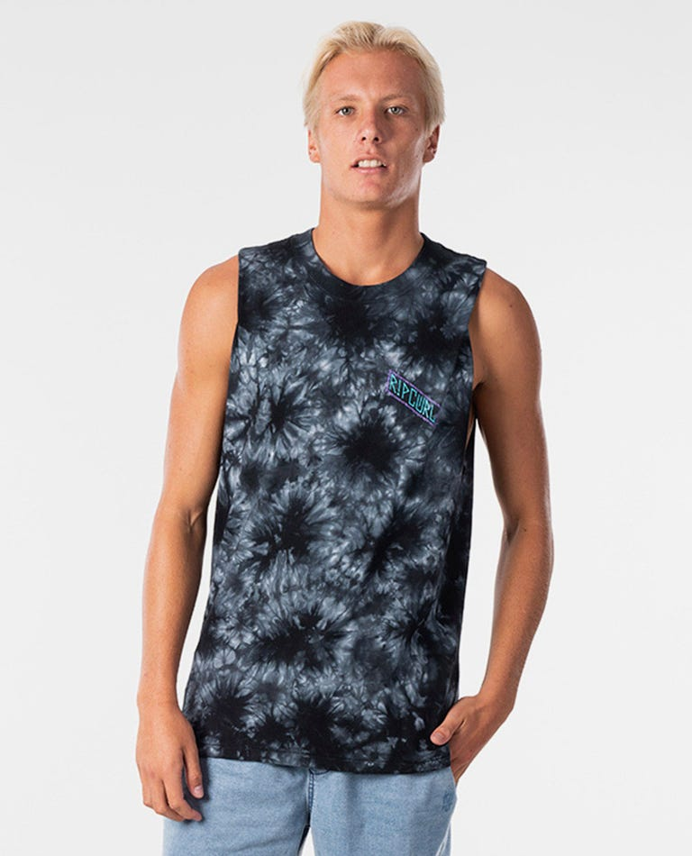 RIP CURL MADSTEEZ TIE DYE MUSCLE