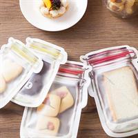 אחסון מזון - סט 12 יחידות לאיטום מזון ושימוש רב פעמי