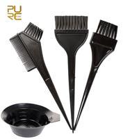 סט 4 חלקים לצביעת ולהחלקת השיער