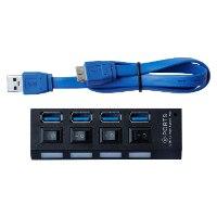 מפצל USB 3.0 עם 4 כניסות מבית Dynamode