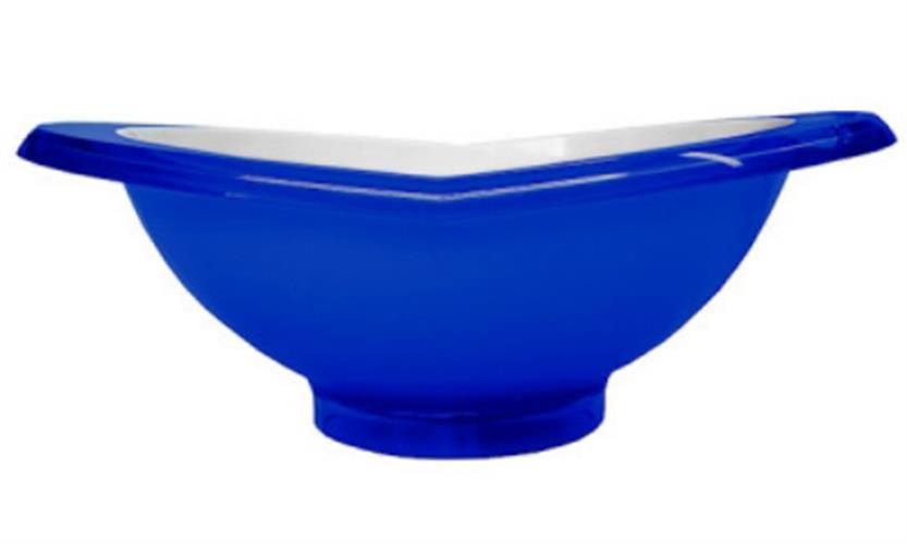 קערת סלט GLAMOUR כחול