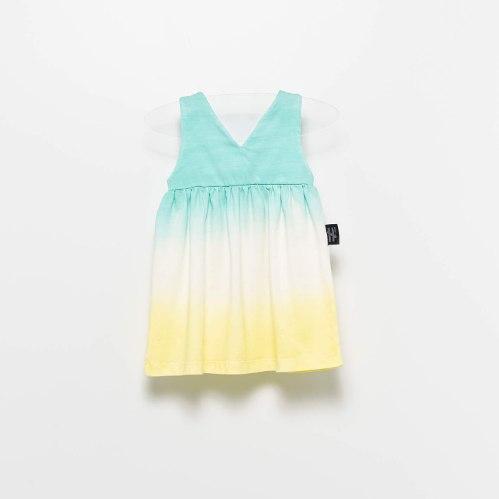 שמלת טאי דאי MOI NOI מידות - 6-24 חודשים