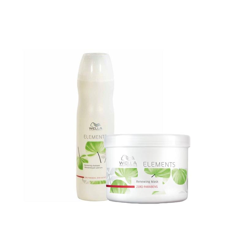 Wella Elements Shampoo Mask Kit