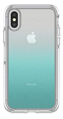 נרתיק קשיח מדגם Symmetry מבית OtterBox לטלפון סלולרי דגם: iPhone XS & X aloha ombre