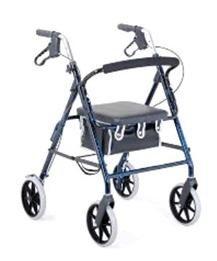 רולטור 4 גלגלים קל משקל מתקפל-גלגל 20 ס''מ