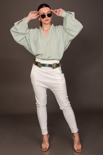חולצת נדין ירוק