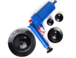 רובה אוויר חדשני לפתיחת ושחרור סתימות