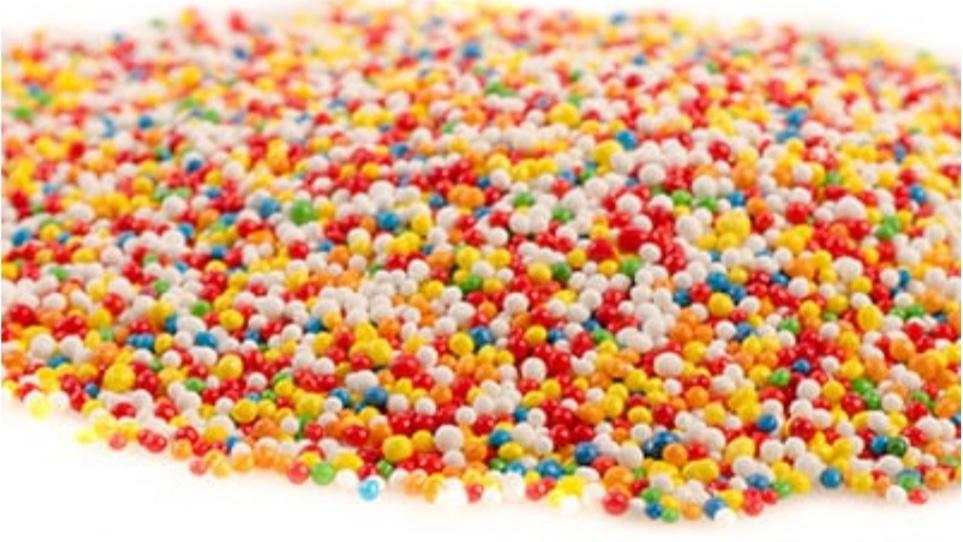 Сахарная посыпка цветные шарики 230гр