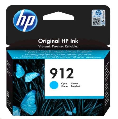 ראש דיו מקורי ציאן כחול HP 912