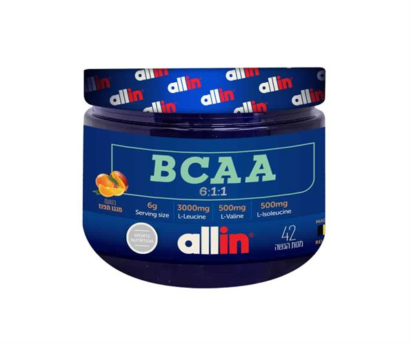 BCAA 6:1:1 מבית allin חומצות אמינו כשר אולאין אבקת BCAA