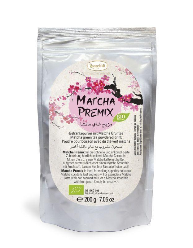 מאצ'ה פרה-מיקס (Matcha premix) רונפלדט