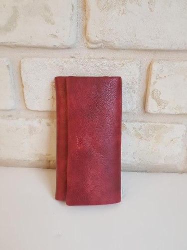ארנק דמוי עור אדום 4076