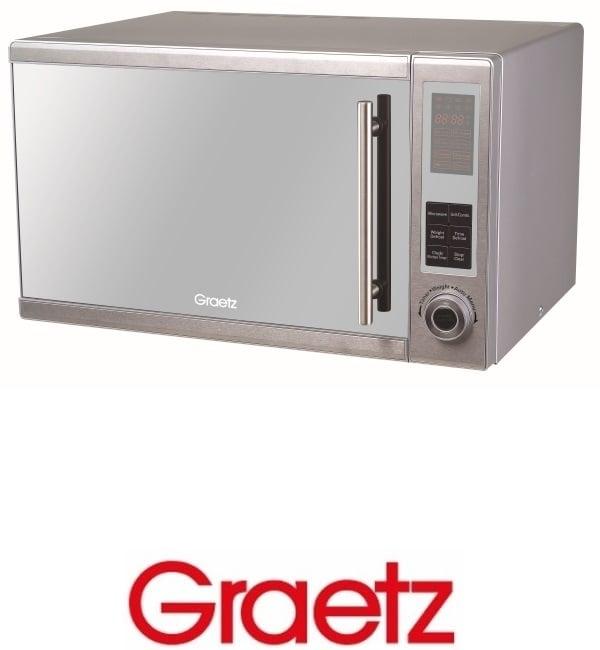 Graetz מיקרוגל דיגיטלי משולב גריל 30 ליטר דגם MW1033