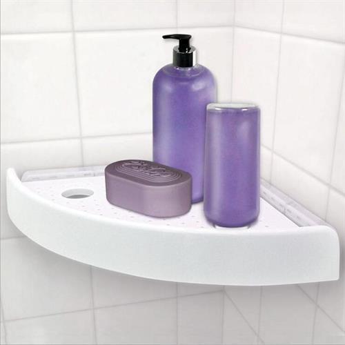 מדף מותאם מתקפל מושלם לאמבטיה!