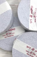 חוטי טריקו לסריגה, חוט לסריגה צבע אפור בהיר,חוט טריקו לסריגה צבע אפור סילבר,טריקו לסריגה, חוטי סריגה, חוט לסריגת שטיח,