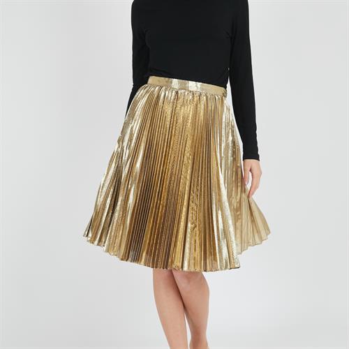 חצאית כריס זהב
