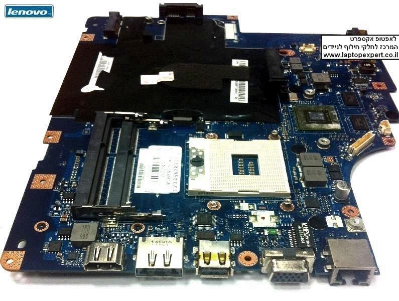 החלפת לוח למחשב נייד לנובו כולל יציאת HDMI - Lenovo G560 Intel Laptop Motherboard s989 69034710 LA-5752P 11011892