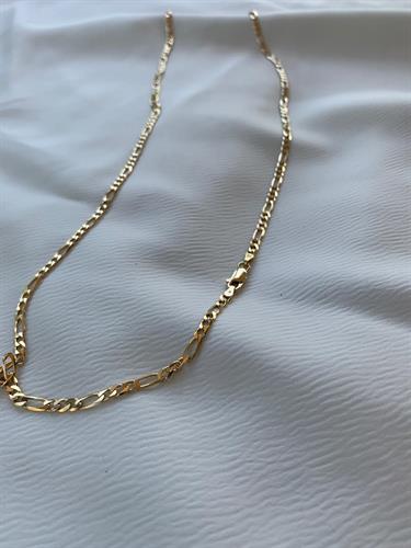 שרשרת גורמט פיגרו S זהב