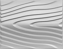 """חיפויי קיר תלת מימדי דגם ''circle'' בגודל 62.5*80 ס""""מ"""