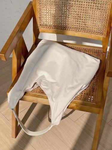 תיק צד קייטי לבן