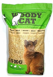 """קט בסט/וודי קט שבבי נסורת דחוסה לכלובי בעלי חיים 6 ק""""ג"""