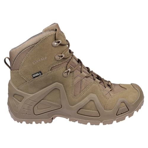 נעליים טקטיות  הרים לואה  חום כהה  LOWA Zephyr GTX Mid Coyote OP