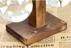 אגרטל זכוכית מעוצב
