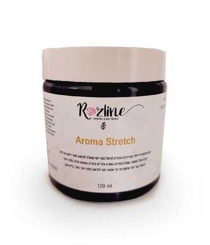 Aroma Strech קרם ארומתרפי ייחודי לטיפול בעור רפוי