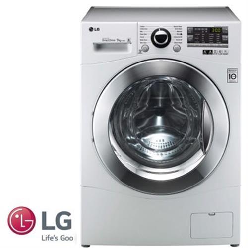 """מכונת כביסה פתח קידמי LG F91491FD 9 ק""""ג"""