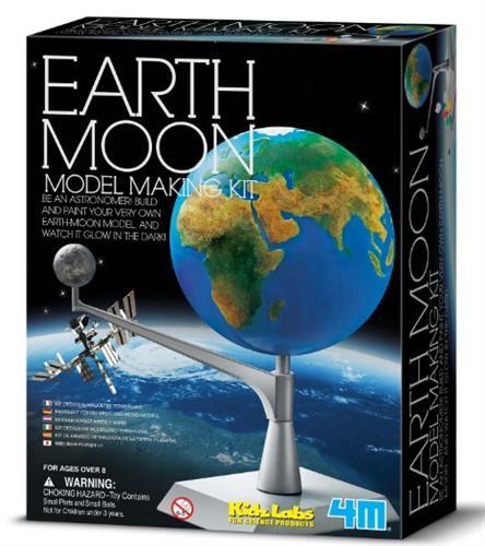 מודל כדור הארץ והירח- 4M