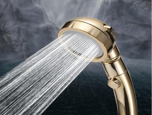ראש דוש הקסם בעיצוב חדשני להגברת זרם המים