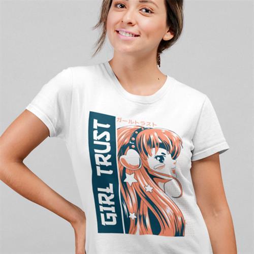 חולצת טי - Girl Trust