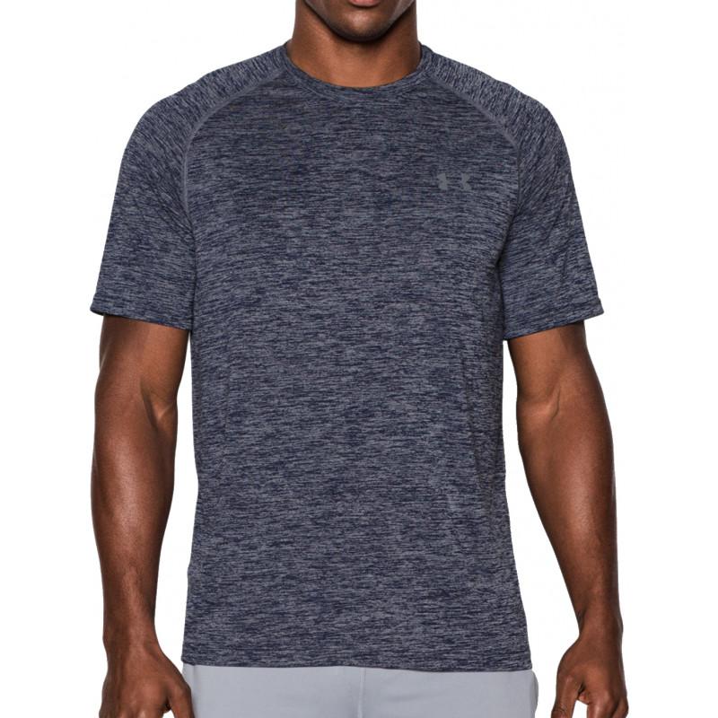 חולצת קצרה אנדר ארמור לגבר 1228539-414 Under Armour Men's Outside Tech SS  T-shirt