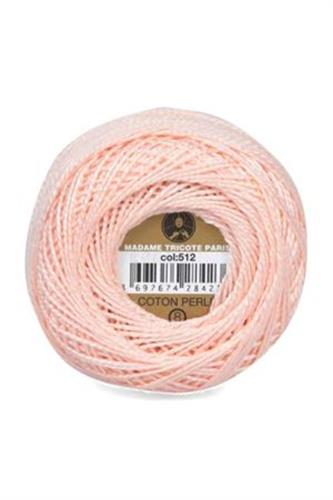 חוט ריקמה - צבע אפרסק בהיר 512