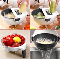 מנדולינה לחיתוך וקיצוץ פירות וירקות עם מסננת מובנת